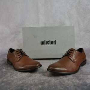 Unlisted by Kenneth Cole Mens Brandy Dress Shoes
